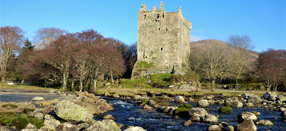 Clan Maclaines Moy Castle Stronghold at Lochbuie